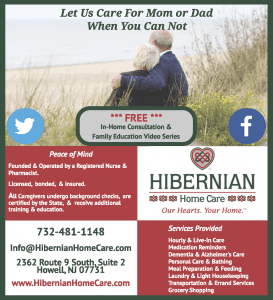 Ad: Hibernian Home Care CCNJ Sponsor