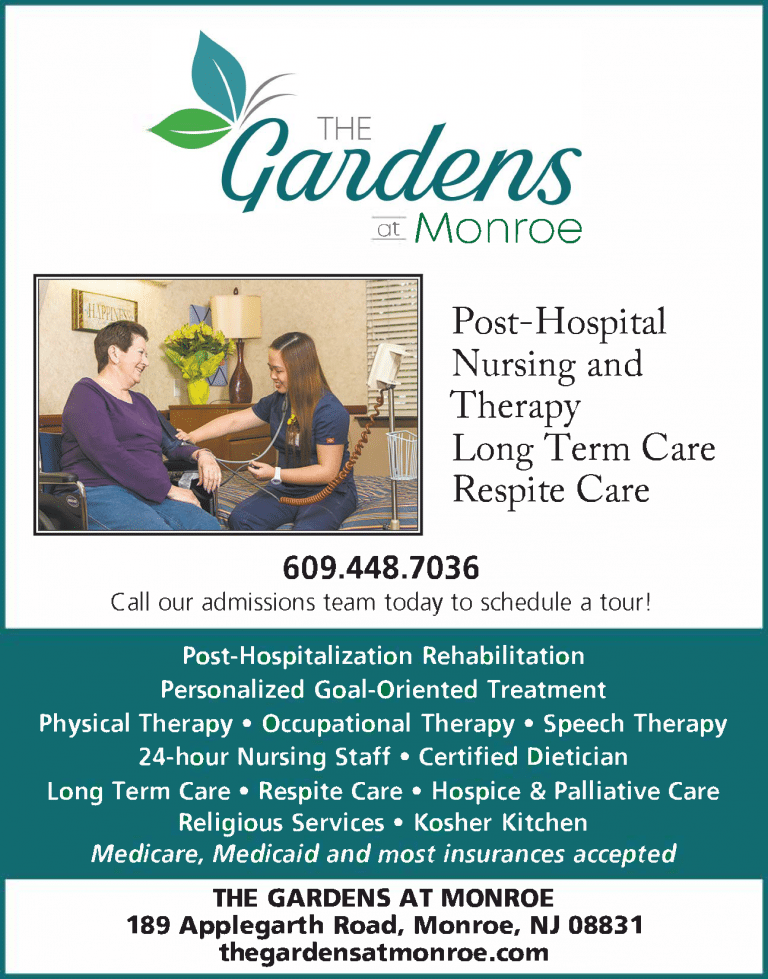 Advertisement: The Gardens at Monroe
