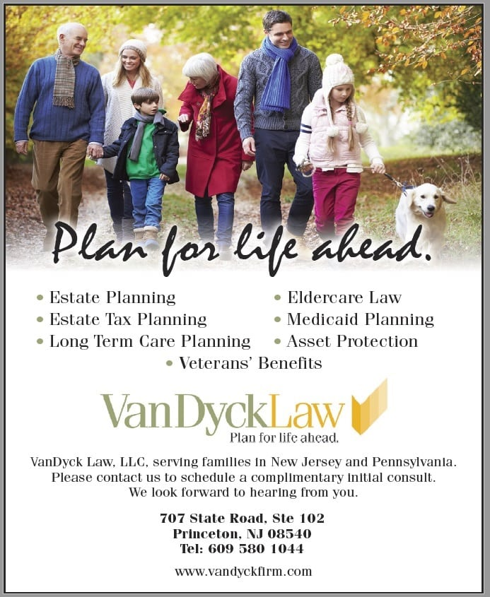 Graphic: Van Dyck Law Firm ad