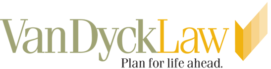Logo: Van Dyck Law Firm | Plan for Life Ahead