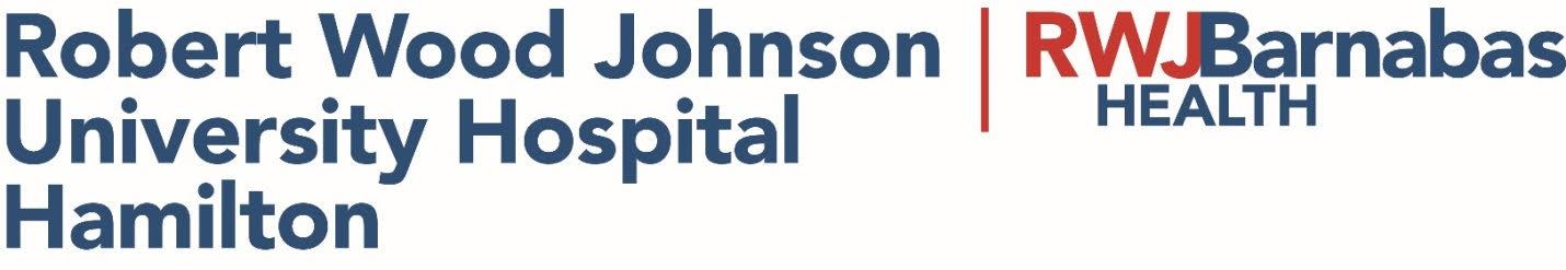 Robert Wood Johnson University Hospital Hamilton logo
