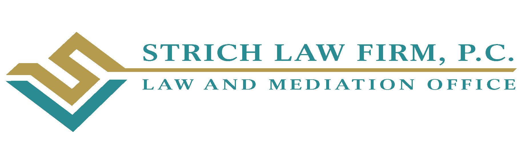 Logo: Strich Law Firm CCNJ Sponsor